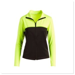 Neon Lime & Black Jacket